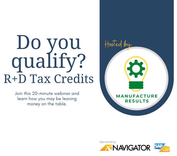 The R&D Tax Credit - A Strategic Tax Advantage