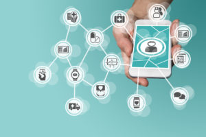 A web of services stems from a cell phone